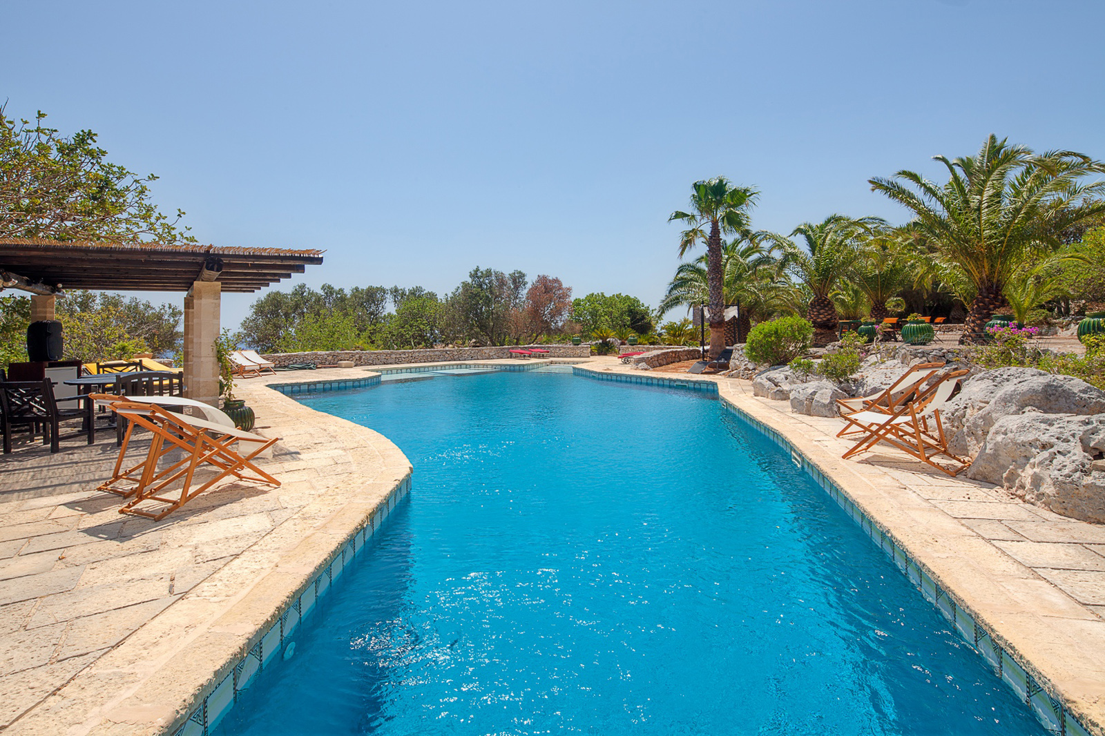 Luxury Pool Villa Demetra Santa Maria di Leuca Puglia to enjoy Sea Urchins
