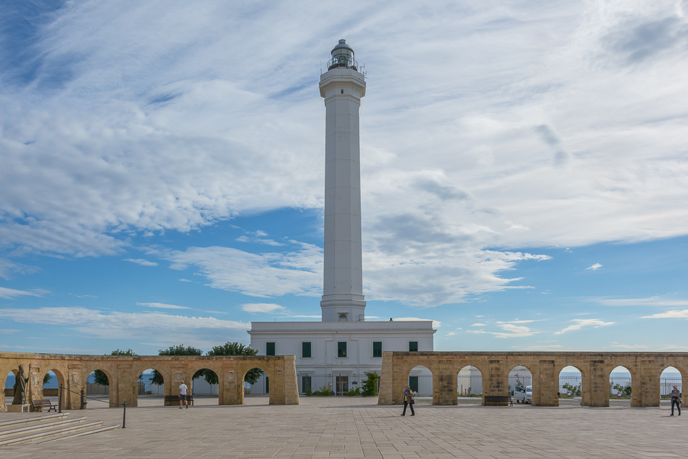 Lighthouse Leuca Salento Puglia