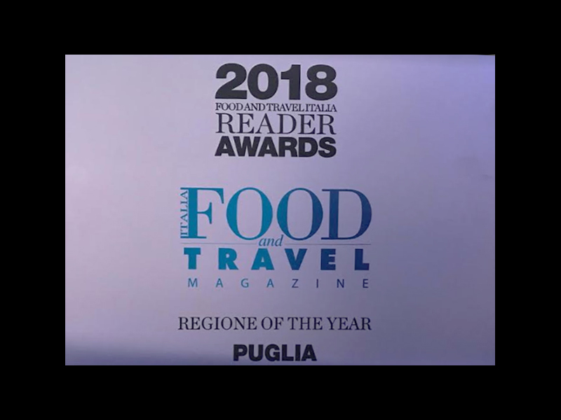 """Region of the Year"" – An important recognition for our beautiful Puglia"