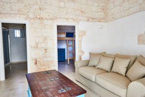 living room vacation villa Puglia