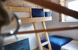 bunk bed villa for vacations in Puglia