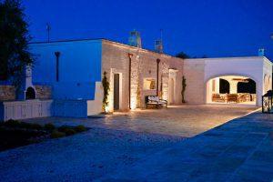 Luxury Villa by Night in Puglia