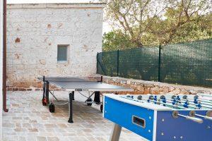 Outdoor games vacation villa