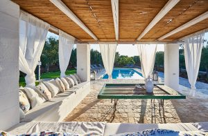 Gazebo Luxury villa Valle D'Itria