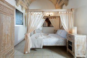 Bedroom extravagant Villa in Puglia