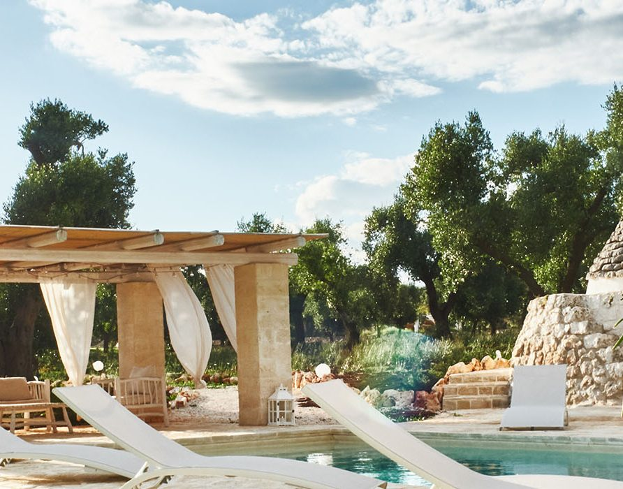 Trullo Elaion luxury stay Puglia