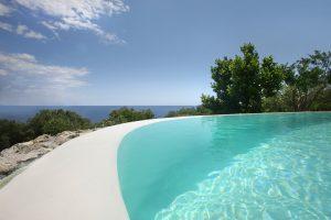 Villa Myrtos refreshing outdoor
