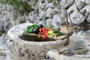 Villa Myrtos local products