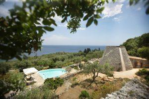 Villa Myrtos looking down