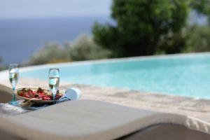 Villa Myrtos sparkling