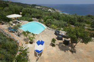 Villa Myrtos swing and pool