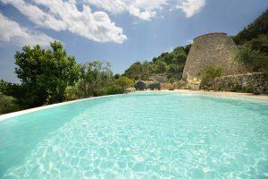 Villa Myrtos water view