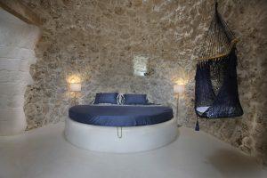 Villa Myrtos bed