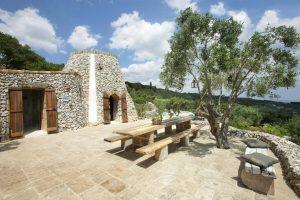 Villa Myrtos under the sun