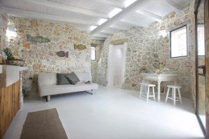 Villa Myrtos living room