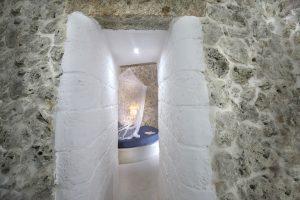 Villa Myrtos hallway