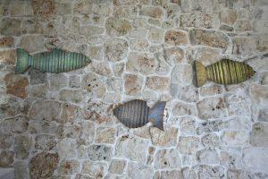 Villa Myrtos wall details