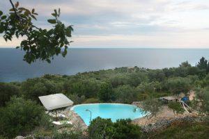 Villa Myrtos from above