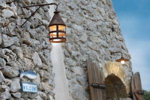 Villa Myrtos entry way