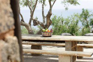 Villa Myrtos fruit basket