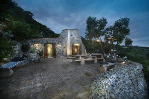 Villa Myrtos evening