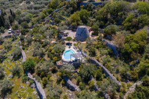 Villa Myrtos with pool