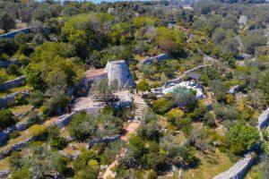 Villa Myrtos full aerial