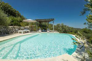 Villa Myrtos refreshing pool