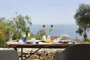 Villa Myrtos & roses