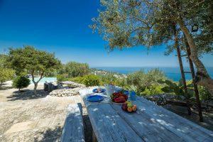 Villa Myrtos snack time 2