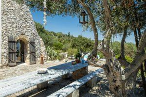 Villa Myrtos outdoor peace