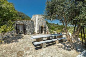 Villa Myrtos outside area