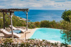 Villa Myrtos pool