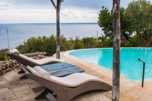 Villa Myrtos chaise