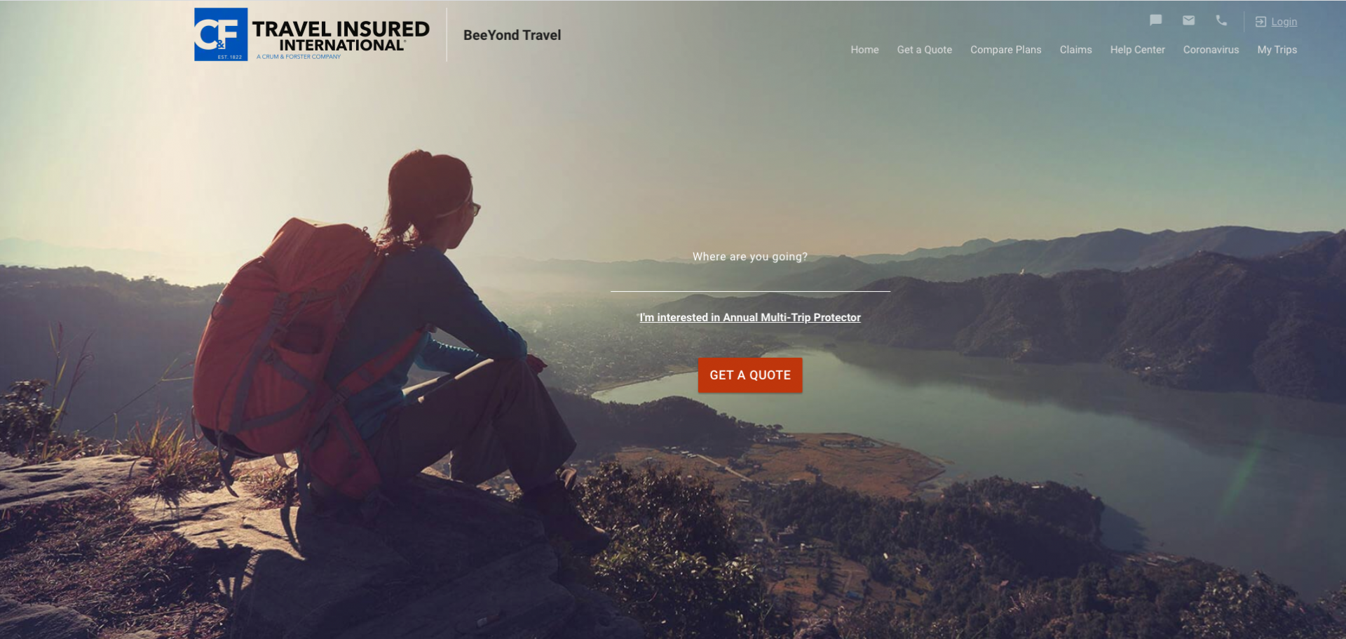 Travel Insured Partnership with BeeYond Travel